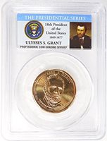 2011 D BU Ulysses Grant Presidential Dollar From Mint Set Combined Shipping