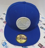 pretty nice f949f 0fabf Golden State Warriors Men s New Era 59FIFTY 7 1 2 Fitted Polished Piece Cap  Hat