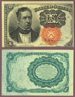 FR-1266 10 Cents Fifth Issue