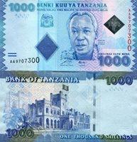 TANZANIA P41 1000 SHILLINGS 2010 BANKNOTE MONEY UNC