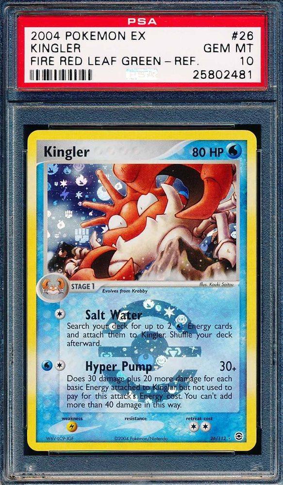 EX FireRed LeafGreen Pokemon Card Kingler 26//112 NEAR MINT Non-Holo Rare TCG!!