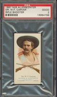 """1887 N28 THE WORLDS CHAMPIONS (1ST) DR. W.F. CARVER PSA 2 GOOD """"""""1887 N28 THE WORLDS CHAMPIONS (1ST) DR. W.F. CARVER PSA 2 GOOD """""""""""