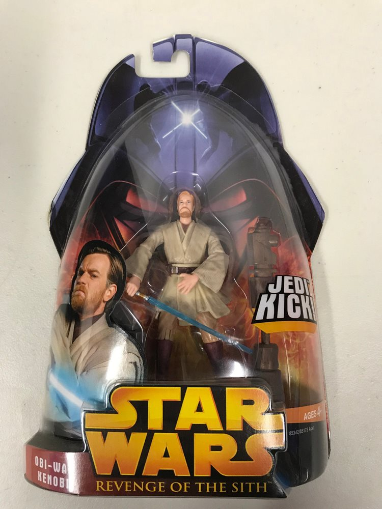 Star Wars Revenge Of The Sith Obi Wan Kenobi Action Fig
