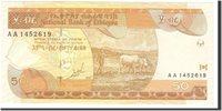 50 Birr 1989 Äthiopien Banknote, Undated, Km:49a