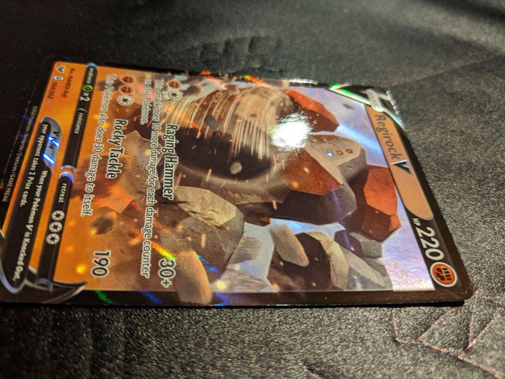 Details about  /POKEMON CARD REGIROCK V English PSA10 GEM MINT SWSH 2020