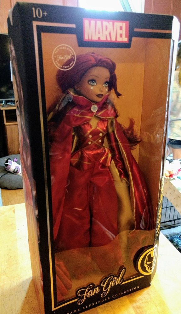 Marvel Fan Girl Madame Alexander Collection Iron Man Inspired 764166063278