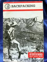 BOY SCOUT BACKPACKING MERIT BADGE PAMPHLET PRE OWNED FREE SHIPPING