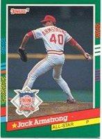 1991 Donruss Baseball Card 439 Jack Armstrong