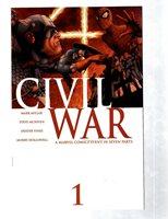 Lot Of 6 Civil War Marvel Comic Books # 1 (2) 2 3 (2) 6 Avengers X-Men Hulk RB27