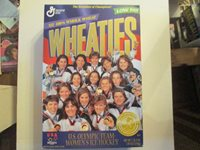 Wheaties Unopened U.S.Olympic Women's Gold Medal Ice Hockey Team
