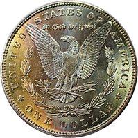 1884 P Morgan Dollars Dollar MS64 PCGS