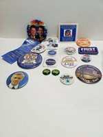 Presidential Campaign Buttons 140+ Buttons Mixed Lot