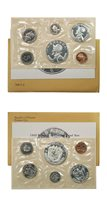 Panama Official Proof Set 6 Coins 1969 United States Mint Packaging KM PS7