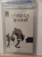 Umbrella Academy #1 Special Edition #1 Only 1000 Printed CGC 9.8 Dark Horse 2007