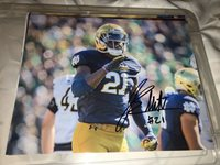 Jalen Elliott Notre Dame Fighting Irish signed autographed 8x10 football photo