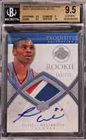 2008-09 Russell Westbrook Upper Deck Exquisite RC Rookie Patch Auto /225 BGS 9.5 / 10 Check whether the plugin is enabled AddThis Button BEGIN AddThis API Config var addthis_product = 'mag-1.0';var addthis_config = {pubid : 'unknown'} AddThis API Config END AddThis Button END