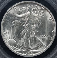 1944-S 50c Walking Liberty Half Dollar PCGS MS 65
