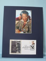 Maya Angelou - famed Poet honored by the First Day Cover of her stamp