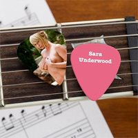 Sara Jean Underwood Official Limited Edition Guitar Pick Playboy Model Picture 4