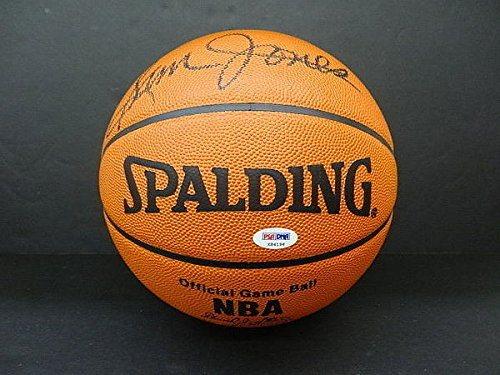 4f46d7e2ed4b1 Sam Jones Autographed Spalding NBA Official Basketball Autograph - PSA/DNA  Authentic Signature - Signed NBA Memorabilia