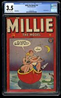 Millie the Model #18 CGC VG- 3.5 Off White to White