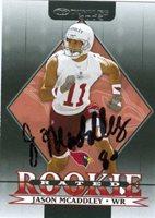 Jason Mcaddley autographed Football Card (Arizona Cardinals)