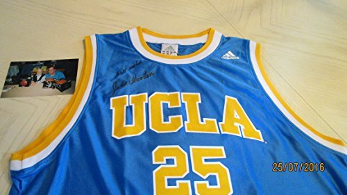 best website 3df8d 9f303 JOHN WOODEN Signed UCLA Basketball Jersey -JSA Authenticated #Z09461