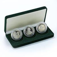 Spitsbergen, 10 chervonets, A set of 3 coins, Stalin, Mao 2013