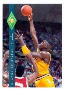 Shaquille O Neal Basketball Card LSU 1992 Classic Fo