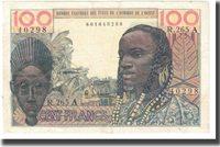 100 Francs West African States Banknote, Km:701ka