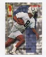 1996 Fleer 159 Marvin Harrison Indianapolis Colts Rc Rookie Football Card