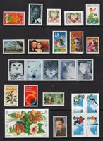 US 1999 NH Commemorative Year Version #1 (of 4) - 73 Stamps - Free USA Shipping