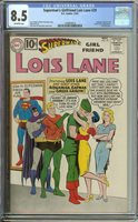 SUPERMAN'S GIRLFRIEND LOIS LANE #29 CGC 8.5 OW PAGES