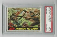 1962 Topps Mars Attacks - Smashing The Enemy (#50) - PSA 7 NM