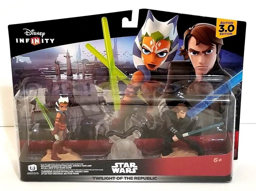 Star Wars TWILIGHT OF THE REPUBLIC NEW Disney Infinity 3.0 Edition Play Set