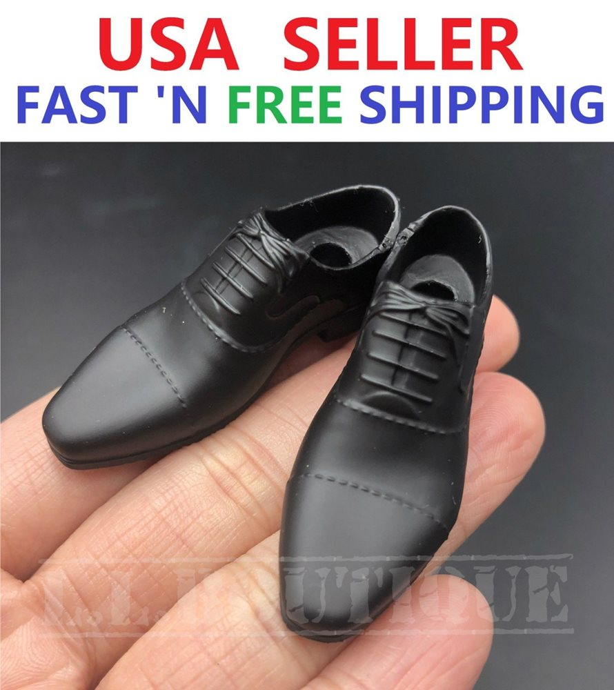 1//6 GREY Sneakers Shoes PEG Type for Custom 12/'/' Male Figure Accessory
