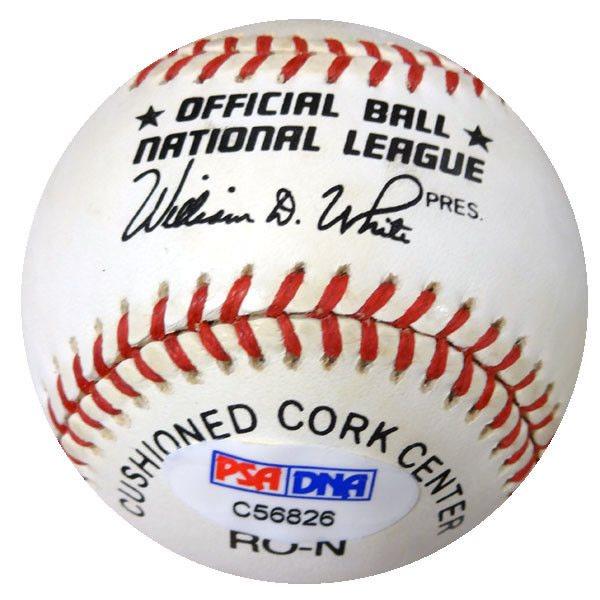 9e67c80ee11 Barry Bonds Autographed Signed NL Baseball Giants