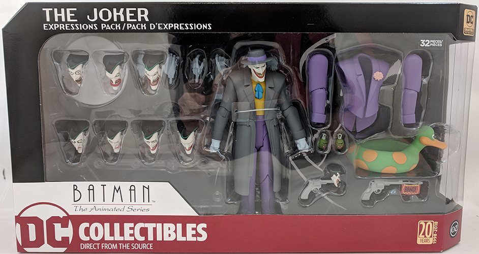 Batman The Animated Series Joker Expression Pack