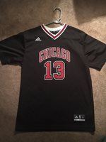Adidas JOAKIM NOAH  13 CHICAGO BULLS Jersey NBA Warm Up YOUTH Size XL d1b6fb58a