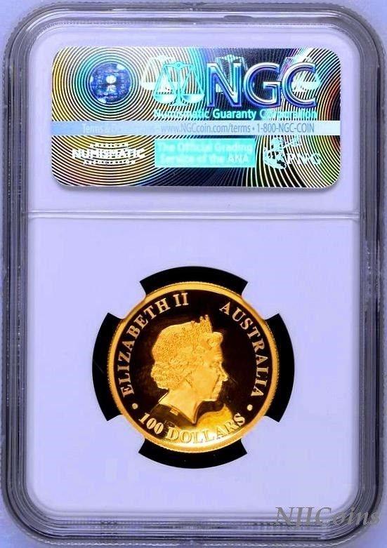 2018 P Australia HIGH RELIEF 1oz Silver Kangaroo $1 Coin NGC PF70 ER New Label