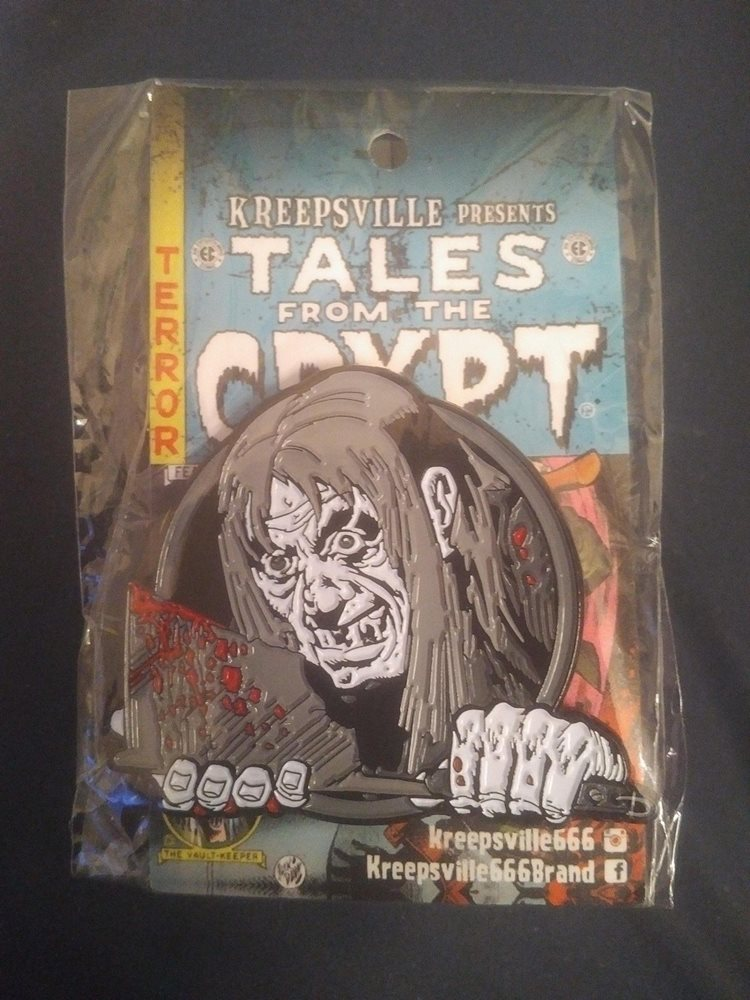Tales From The Crypt Crypt Keeper Enamel Pin Badge 2018