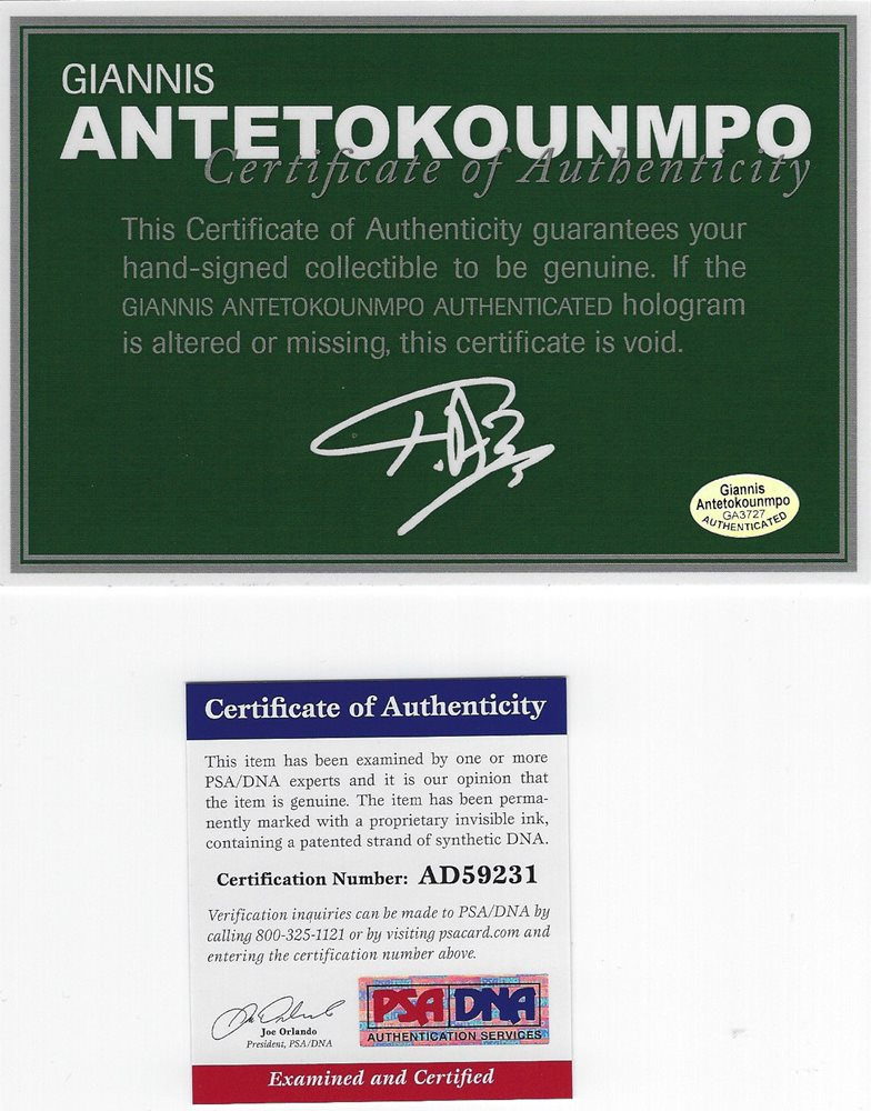 275f4641d8a1 Giannis Antetokounmpo signed