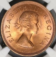 Collectors com - Coins - UNION OF SOUTH AFRICA - Penny