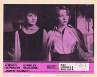THE LOUDEST WHISPER Lobby Card 1 Shirley MacLaine Audrey Hepburn Childrens Hour