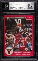 1984 Star #101 MICHAEL JORDAN Rookie Chicago Bulls BGS 8.5 - Subs 8? 9 9.5 9.5