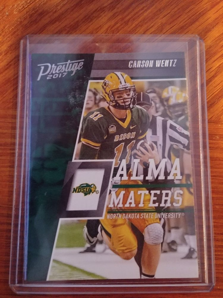 Carson Wentz Rookie Card Lot