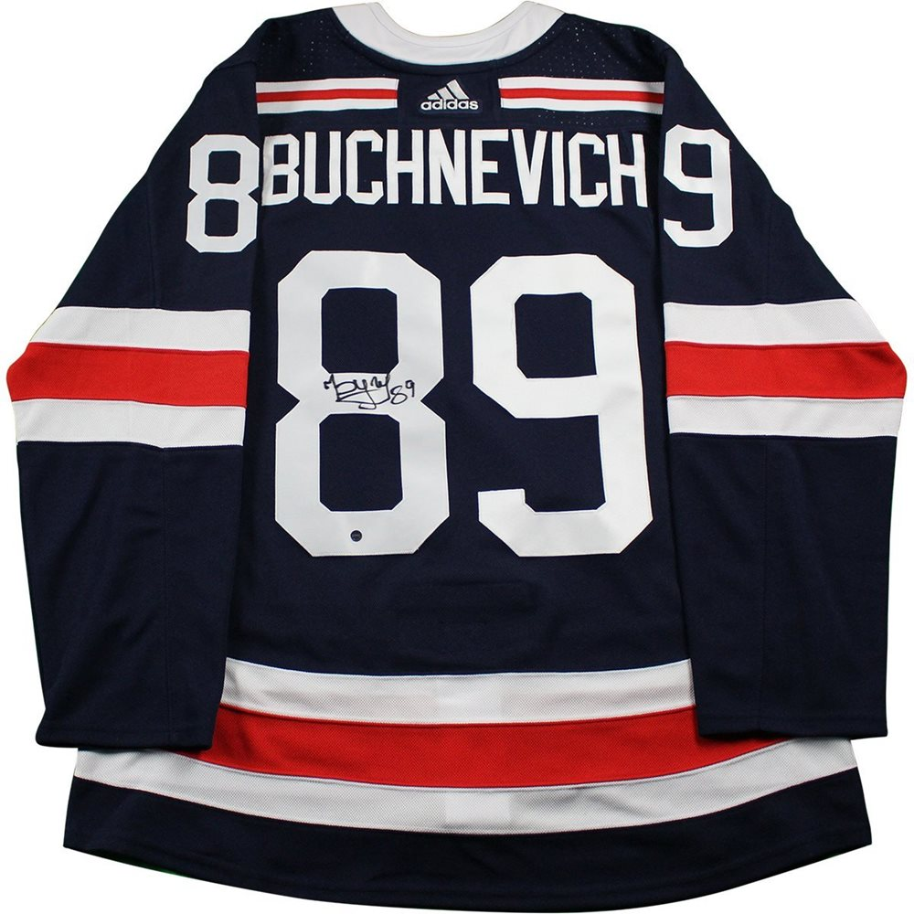 promo code a21b9 e1305 Pavel Buchnevich New York Rangers Signed 2018 NHL Winter Classic Jersey