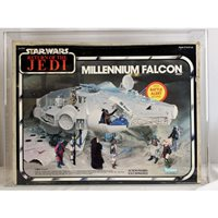 1983 Kenner Star Wars ROTJ Millennium Falcon 75 EX+/NM AFA #11166871