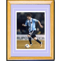 Lionel Messi Unsigned Framed 8x10 Photo