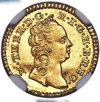 1749 Austria Romania Transylvania Maria Theresa gold 1/4 ducat NGC MS64 TOP POP